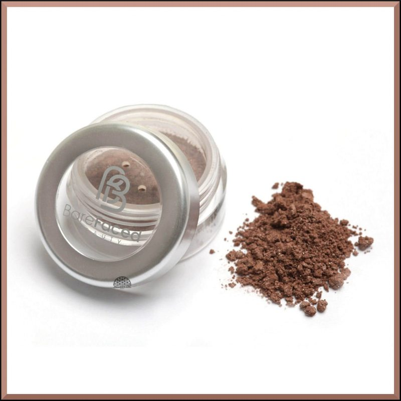 """Ombre à paupières minérale """"Brown Earth"""" 1.5gr - Barefaced Beauty"""
