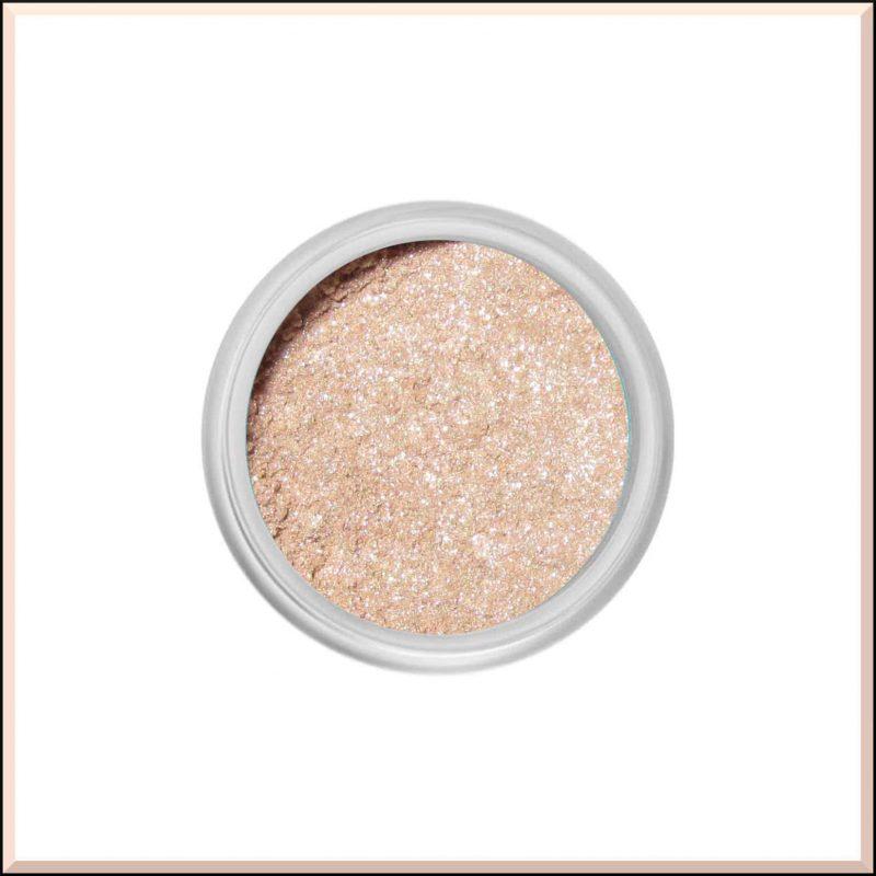 """Ombre à paupières minérale """"White Gold"""" 3.75ml - Silk Naturals"""