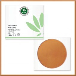 Fond de teint vegan & naturel couleur Caramel 16gr