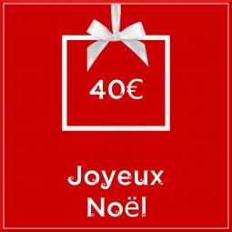 """Carte cadeau vegan """"Joyeux Noël"""" 40€ - Precious Life"""