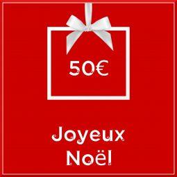 """Carte cadeau vegan """"Joyeux Noël"""" 50€ - Precious Life"""