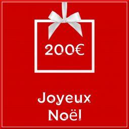"""Carte cadeau vegan """"Joyeux Noël"""" 200€ - Precious Life"""