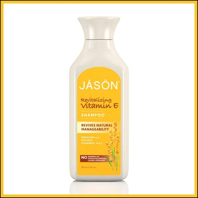 """Shampoing vegan et naturel """"Vitamine E"""" - Jason Natural"""