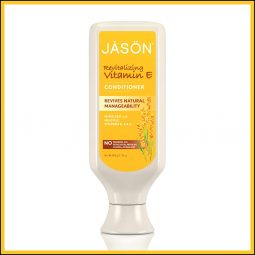 "Après shampoing ""Vitamine E"" 473ml - Jason Natural"