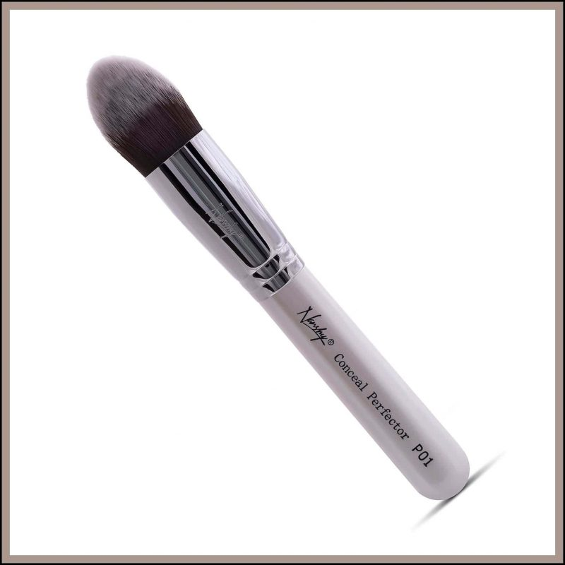 Pinceau maquillage vegan précision teint - Nanshy