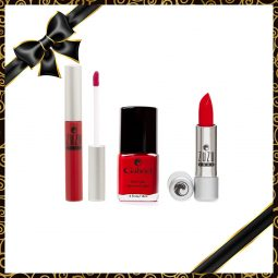 "Coffret cadeau vegan ""Red Collection"" - Zuzu Luxe et Gabriel Color"