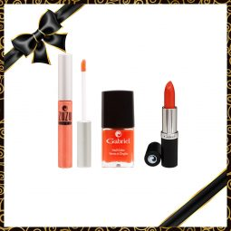 "Coffret cadeau vegan ""Orange Collection"" - Zuzu Luxe et Gabriel Color"