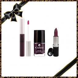 "Coffret cadeau vegan ""Purple Collection"" - Zuzu Luxe et Gabriel Color"