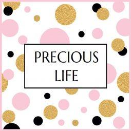 Emballage cadeau - Precious Life