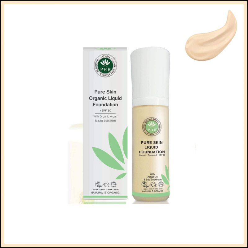 "Fond de teint vegan et naturel ""Cream"" - PHB Ethical Beauty"