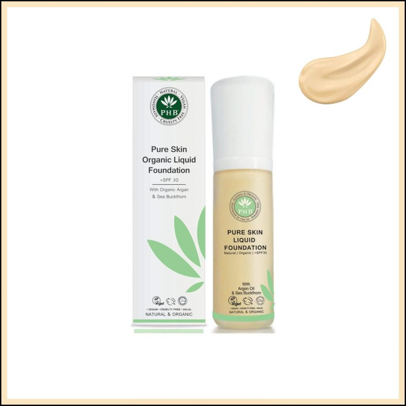 "Fond de teint vegan et bio ""Fair Beige"" - PHB Ethical Beauty"