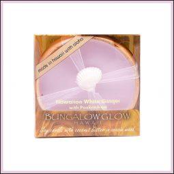 "Bougie de massage ""Hawaiian White Ginger & Puakenikeni"" Gingembre blanc & Fleur de Pua 160gr - Bubble Shack Hawaii"