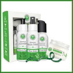 Coffret soins visage peau sensible vegan & bio