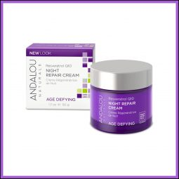 Crème de nuit Q10 régénérante 50ml - Andalou Naturals