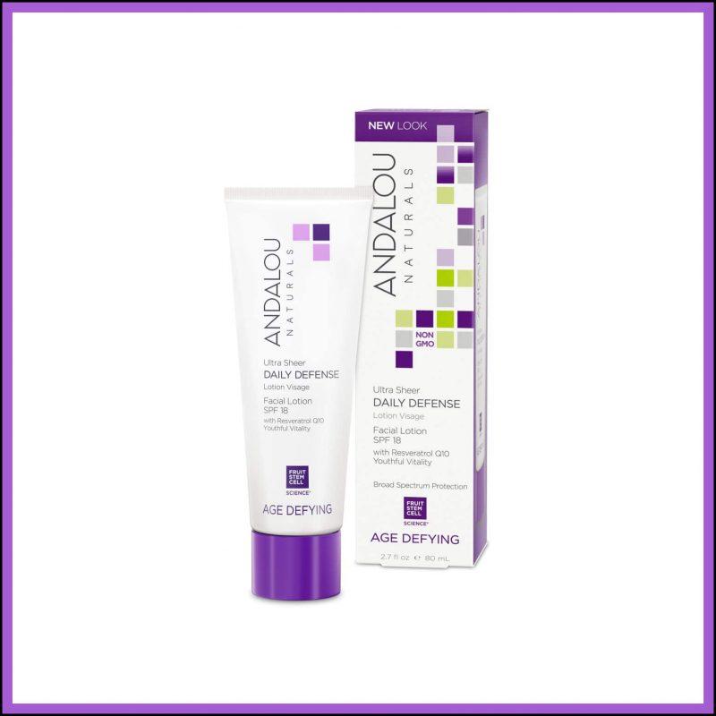 Emulsion vegan protectrice 80ml - Andalou Naturals