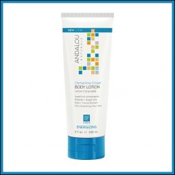 "Lotion hydratante corps vegan ""Clémentine & Gingembre"" 236ml - Andalou Naturals"
