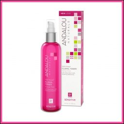 "Tonique apaisant vegan ""Rose"" 178ml - Andalou Naturals"