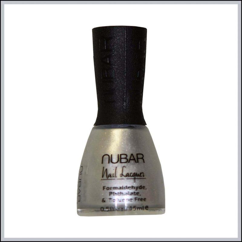 "Vernis à ongle vegan gris ""Platinum"" - Nubar"