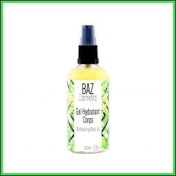 Gel hydratant corps vegan et naturel - Baz Cosmetics