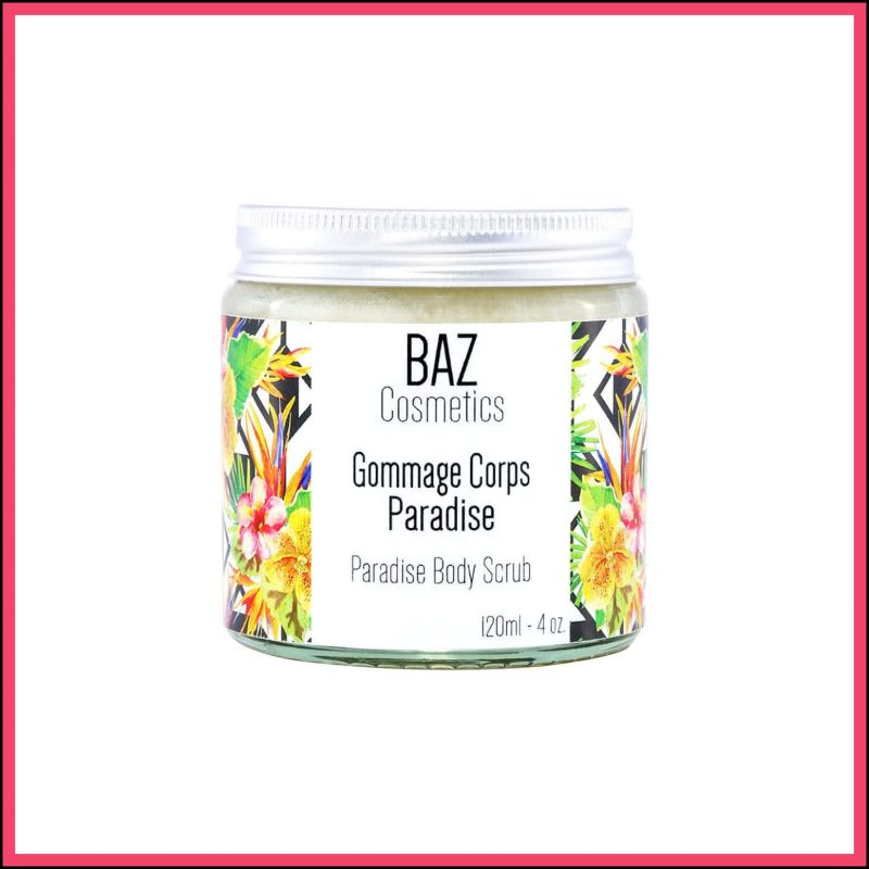 "Gommage corps vegan et naturel ""Paradise"" - Baz Cosmetics"