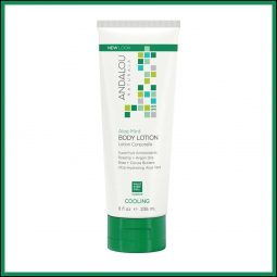 "Lotion hydratante corps ""Aloe & Menthe"" 236ml - Andalou Naturals"