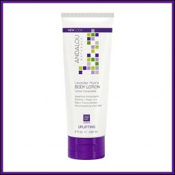 "Lotion hydratante corps ""Lavande & Thym"" 236ml - Andalou Naturals"
