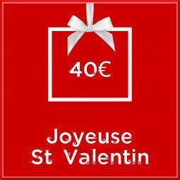 """Carte cadeau vegan """"Joyeuse Saint Valentin"""" 40€ - Precious Life"""