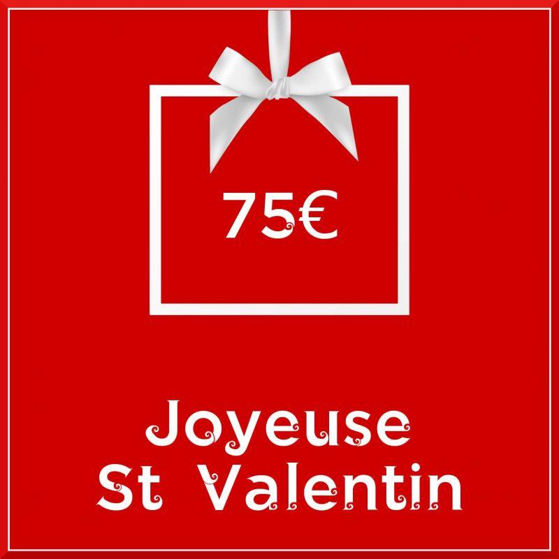 """Carte cadeau vegan """"Joyeuse Saint Valentin"""" 75€ - Precious Life"""