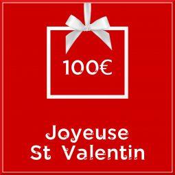"""Carte cadeau vegan """"Joyeuse Saint Valentin"""" 100€ - Precious Life"""