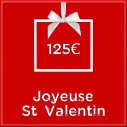 """Carte cadeau vegan """"Joyeuse Saint Valentin"""" 125€ - Precious Life"""