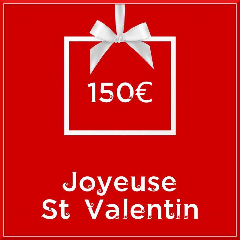 """Carte cadeau vegan """"Joyeuse Saint Valentin"""" 150€ - Precious Life"""