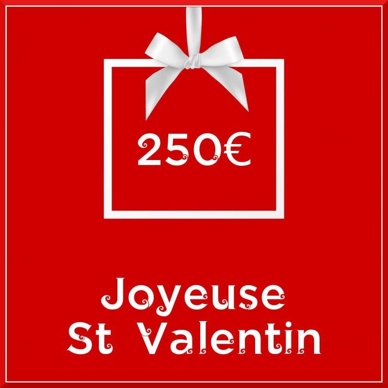 """Carte cadeau vegan """"Joyeuse Saint Valentin"""" 250€ - Precious Life"""