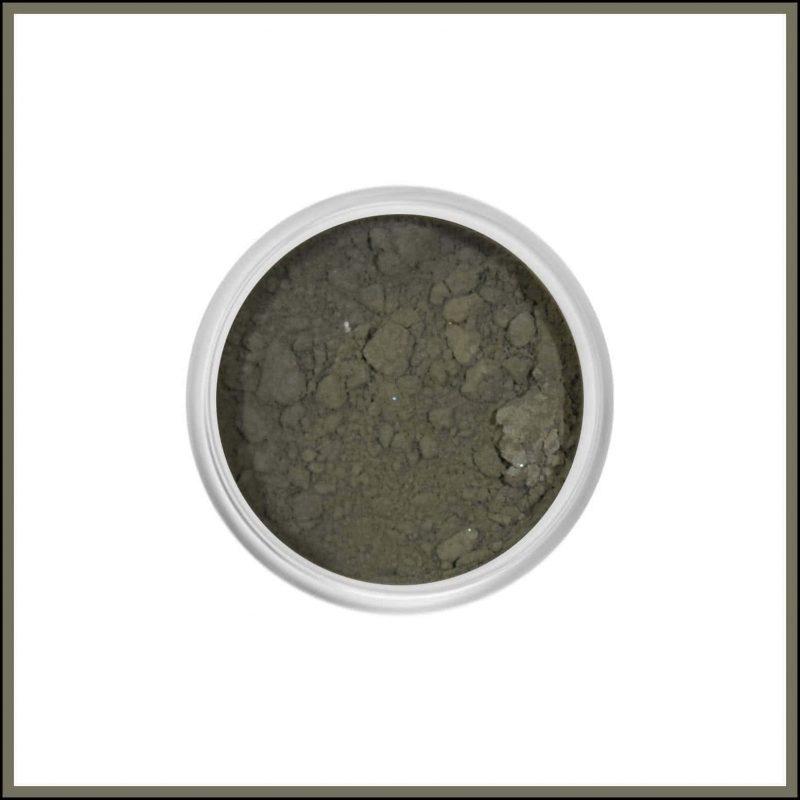 "Ombre à paupières minérale vegan ""Moss"" - Silk Naturals"