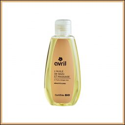 "Huile de bain & massage ""Argan & Ylang ylang"" 160ml - Avril"