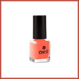 "Vernis à ongles mini ""Corail"" 7ml - Avril"