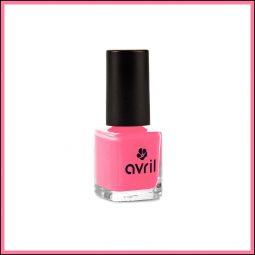 "Vernis à ongles mini ""Rose Tendre"" 7ml - Avril"