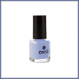 "Vernis à ongles mini ""Bleu Layette"" 7ml - Avril"