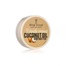 "Beurre corps vegan & bio - ""Vanille & Coco"" 200gr - Deep Steep"