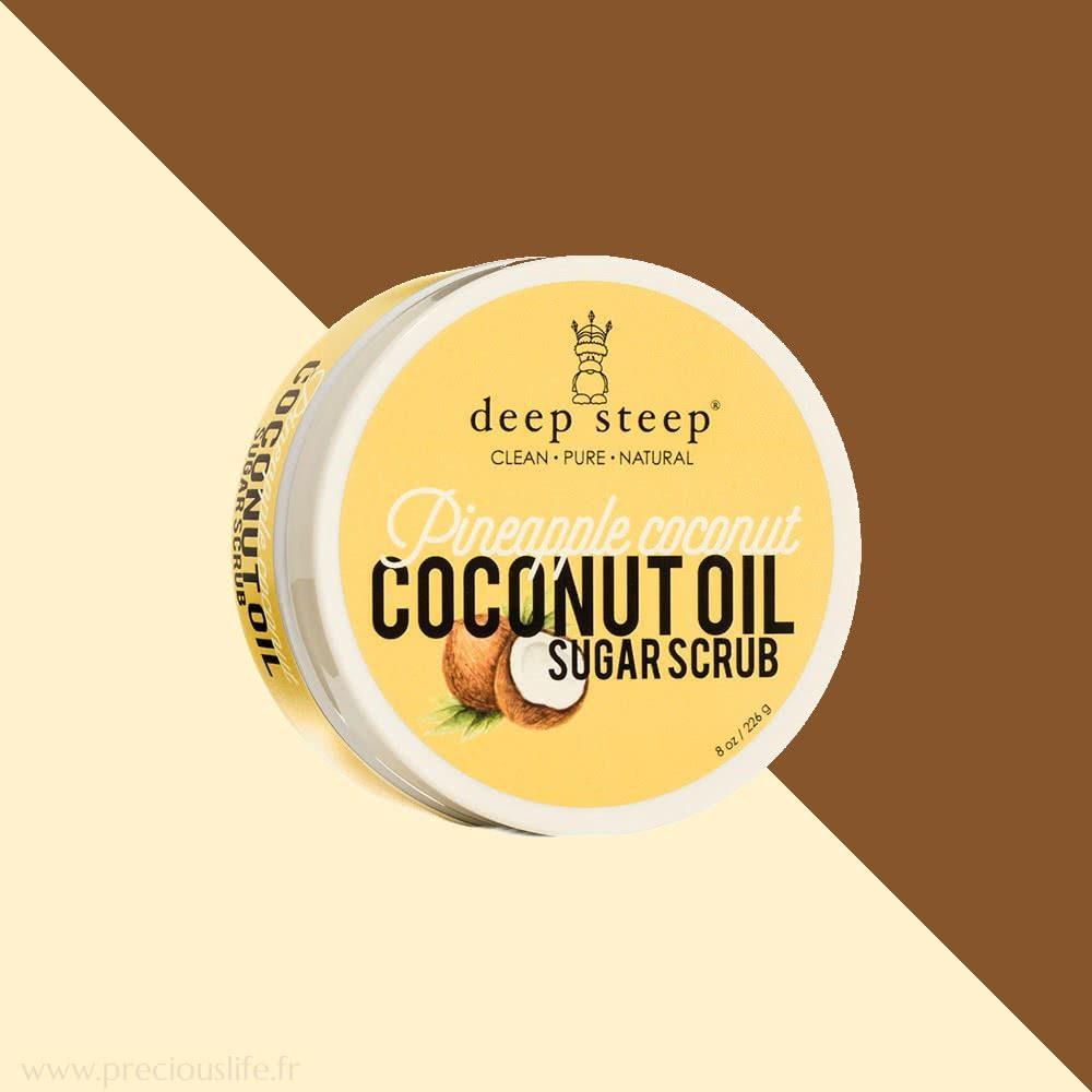gommage corps vegan naturel ananas coco deep steep. Black Bedroom Furniture Sets. Home Design Ideas