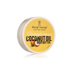 "Beurre corps vegan & naturel - ""Ananas & Coco"" 200gr - Deep Steep"
