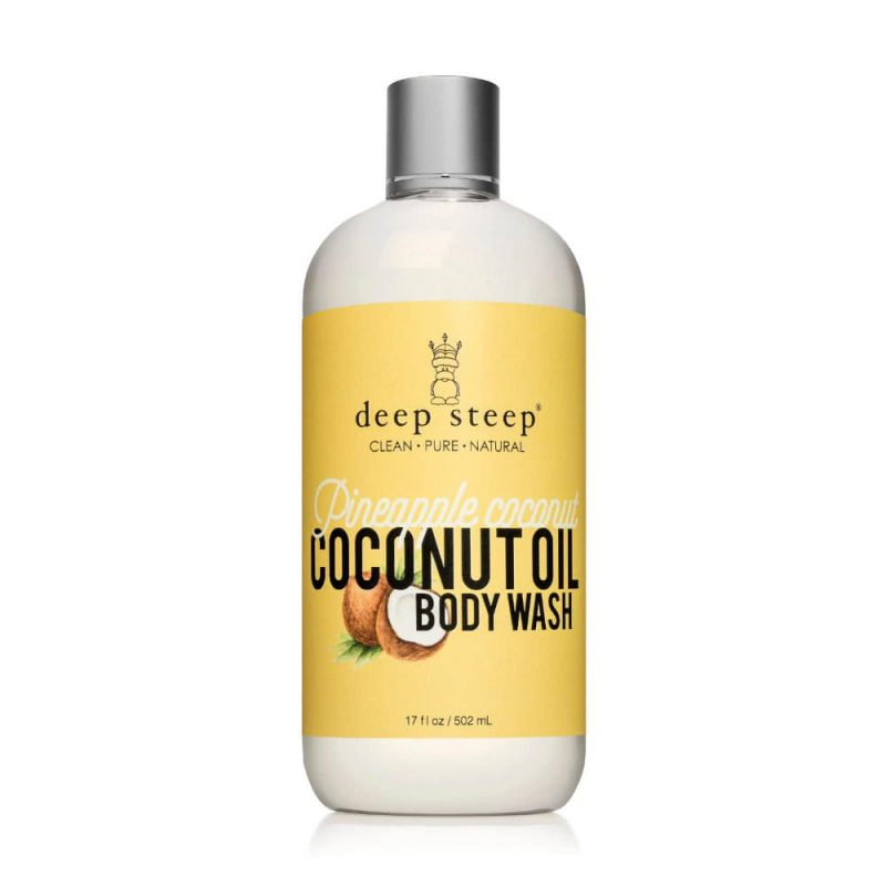 "Gel douche vegan & bio ""Ananas & Coco"" - Deep Steep"