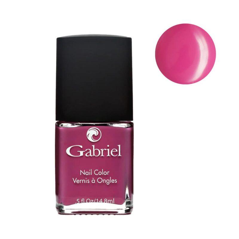 "Vernis à ongles vegan rose fushia ""Passion"" - Gabriel Color"