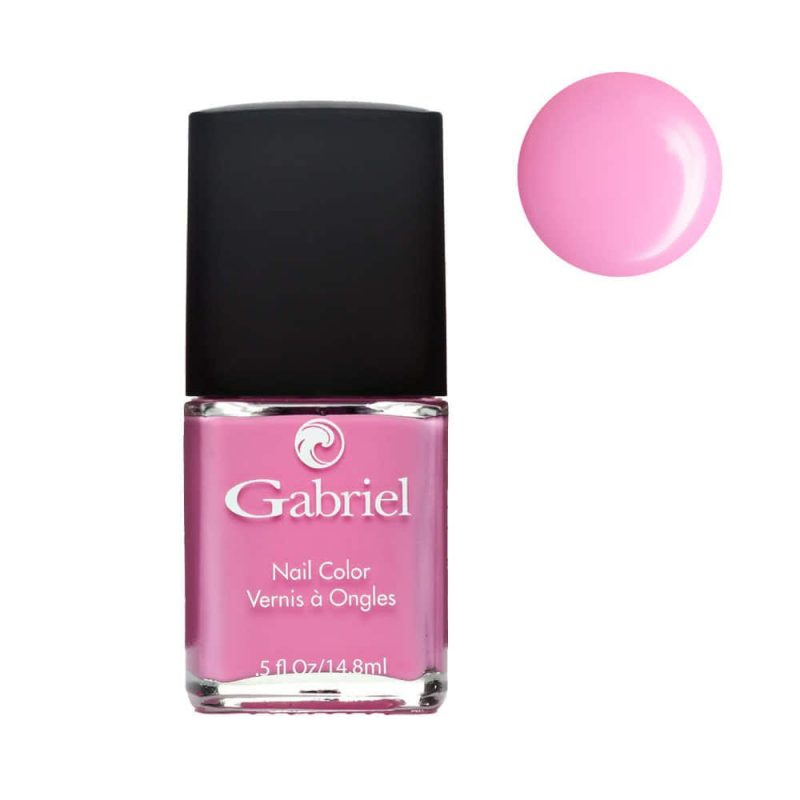 "Vernis à ongles vegan rose vif ""Flamingo"" - Gabriel Color"
