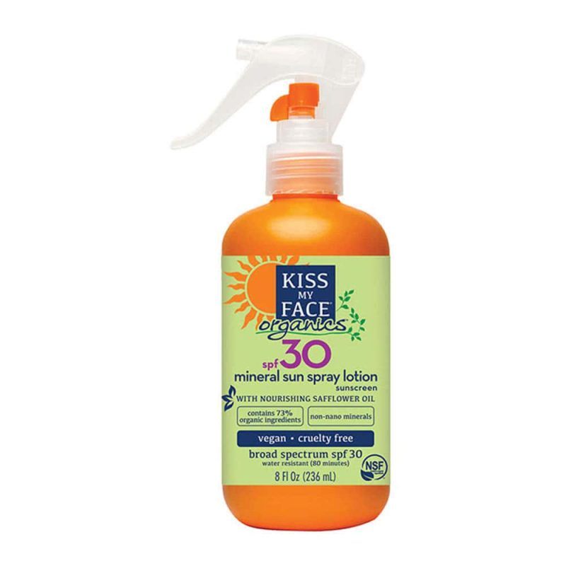 Protection solaire minérale SPF30 236ml - Kiss My Face