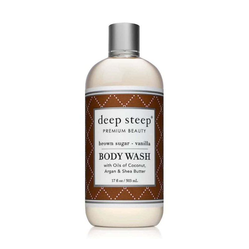 "Gel douche vegan & bio ""Vanille & Sucre roux"" - Deep Steep"