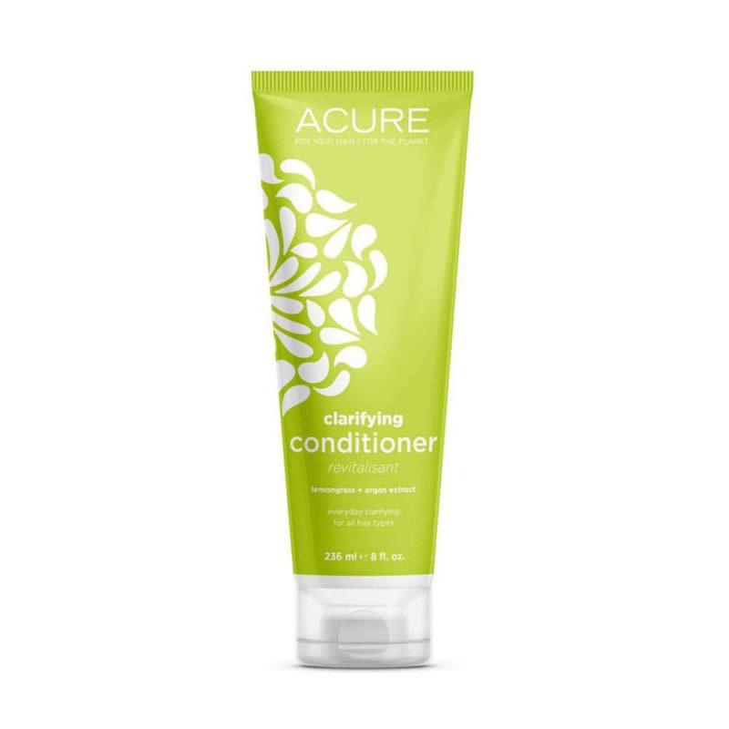 """Après shampoing vegan et bio clarifiant """"Citronnelle & Argan"""" - Acure Organics"""