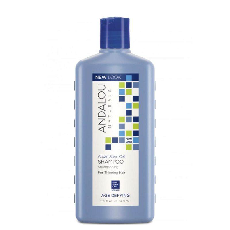 Shampoing vegan & bio pour cheveux fragiles - Andalou Naturals