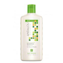 Shampoing lissant vegan & bio à l'huile de marula 340ml