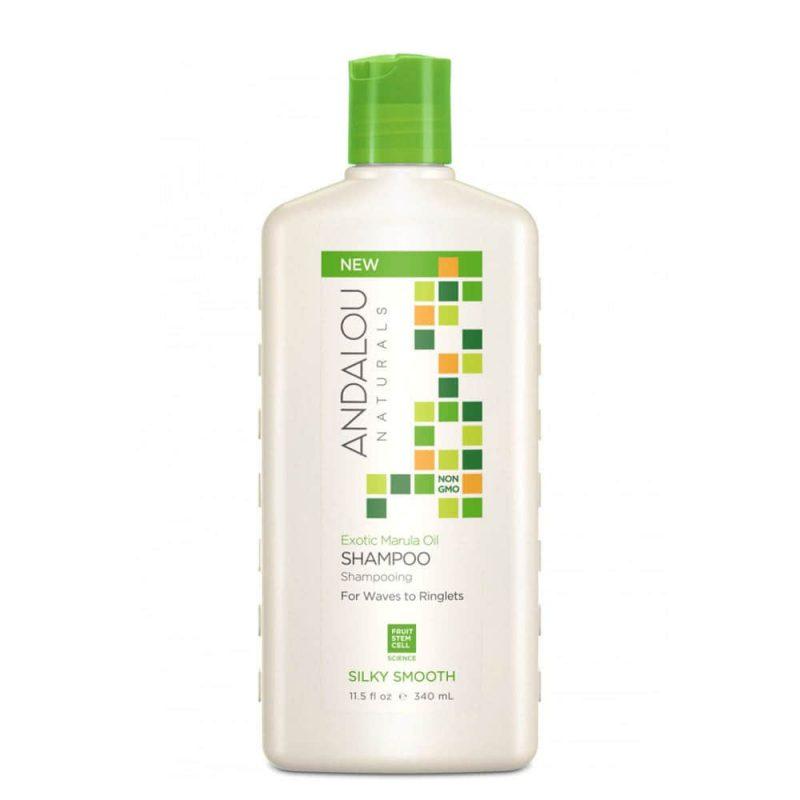 Shampoing lissant vegan & bio à l'huile de marula - Andalou Naturals
