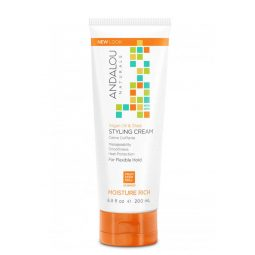 "Crème coiffante ""Argan & Orange douce"" 200ml - Andalou Naturals"